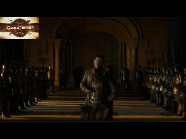 Король Томмен изгоняет Джейме из Королевской гвардии Игра Престолов 6х06