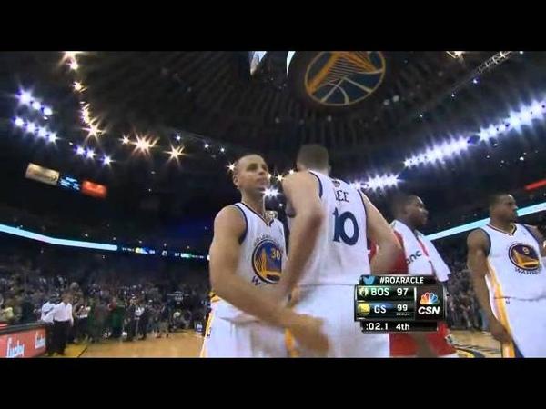 Steph Curry game-winner vs Celtics 1-10-14