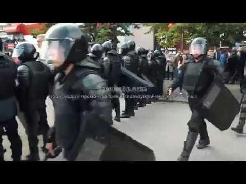 Митинг-протест против пенсионной реформы в г. Челябинск 09.09.18г. Обзор задержания активистов