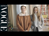 Barbara Palvins day off includes coffee, workouts and lots of Dylan Sprouse