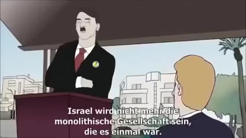 Adolf Hitler kommt zurück, um Israel von Rassismus zu befreien.