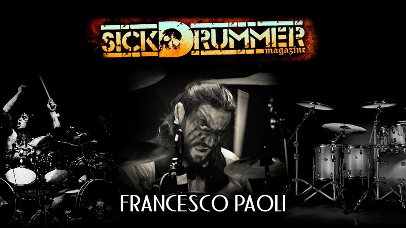 Francesco Paoli (Fleshgod Apocalypse) Drum-Cam. The Violation. CD Sound Dub