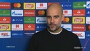 Pep Guardiola Lyon are one of the toughest sides I've ever faced   Post-match interview