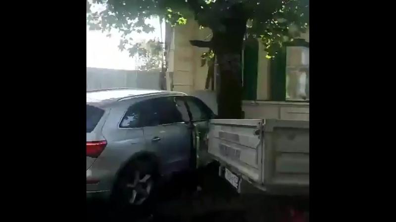 Сильное ДТП на Базовской Чапаева 15 09 18