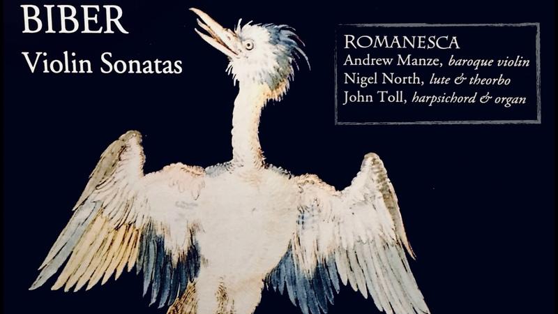 Biber Violin Sonatas reference recording Trio Romanesca