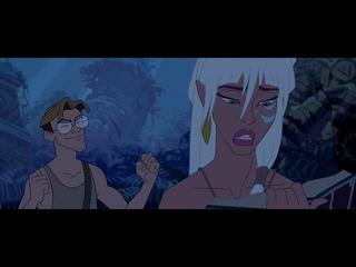 Atlantis The Lost Empire Milo and Kida questions