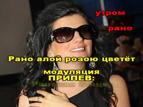 Гурцкая РАНЕНАЯ ПТИЦА караоке версия