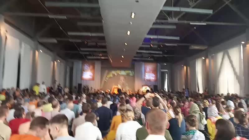 Е.С. Гопал Кришна Госвами Махарадж, Москва, Общинная программа, 15.06.2019