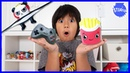 Ryan Surprise Toys Opening Challenge Toy Jelly !