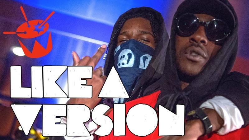 A$AP Rocky - 'Praise The Lord (Da Shine)' Ft. Skepta (live on triple j)