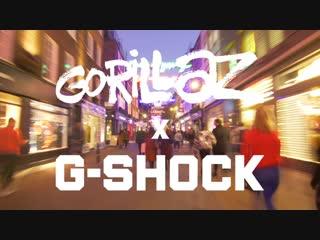 G-SHOCK X Gorillaz