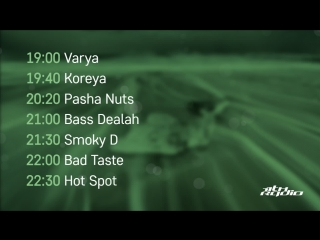Varya, Koreya, Pasha Nuts, Bass Dealah, Smoky D, Bad Taste, Hot Spot - Live @ TimeofNight (17.10.2018)