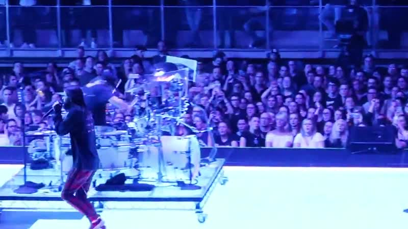 21 03 2018 Walk on Water Thirty Seconds To Mars Lotto Arena Антверпен Бельгия TheMonolithTour2018