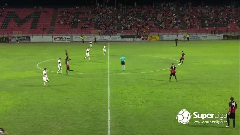 Super liga 2018/19: 8.Kolo: MAČVA – ZEMUN 0:2 (0:1)
