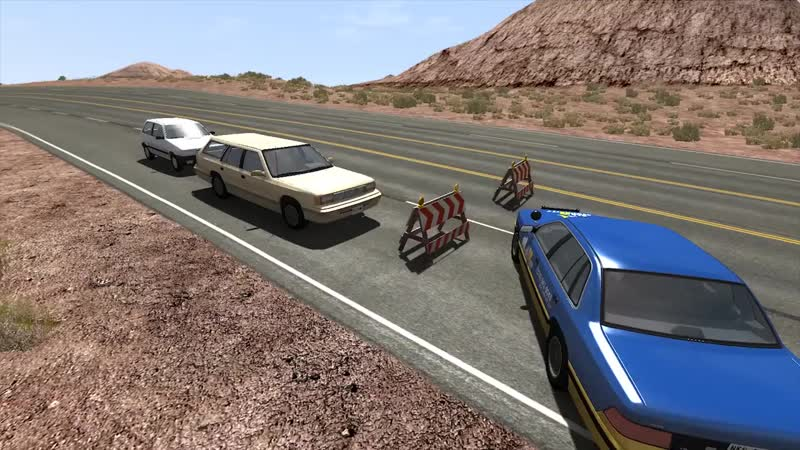 Car Pal Beamng drive L shaped speed bumps 720p