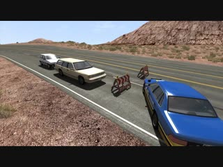 Car Pal Beamng drive - L shaped speed bumps (720p)