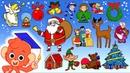 Learn Christmas ABC | C Is For Christmas videos for kids | Merry X-Mas Alphabet | Club Baboo