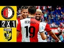 Feyenoord 2 x 1 Vitesse Eredivisie 30 09 2018 HD