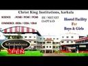Spot Admission Science Commerce Christ King Institutions Karkala