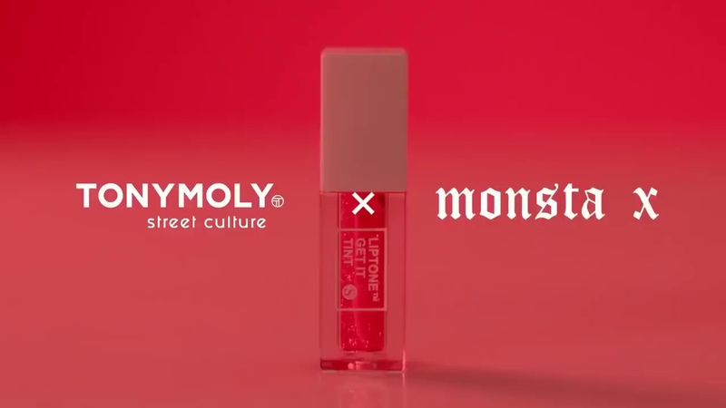 MONSTA X 'TONY MOLY LIP TINT CF'