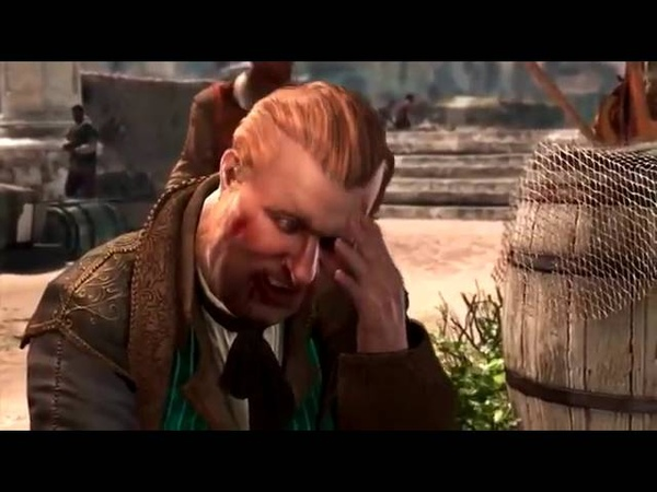 Assassin's Creed IV Black Flag Полнометражный фильм Все сцены Русская Озвучка HD1