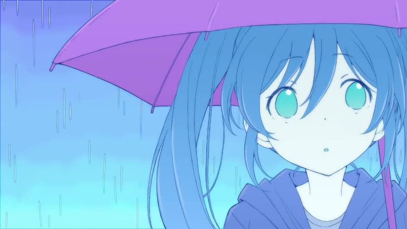 Vocaloid【Hatsune Miku】- rain [rus sub]