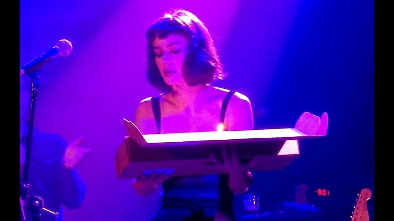 Meg Myers Receiving Her Birthday Cake Onstage in Chicago - October 6th 2018 - Constant
