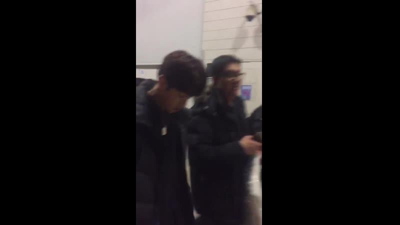 FANCAM | 10.02.18 | Chan, Jun @ After The Unit Final