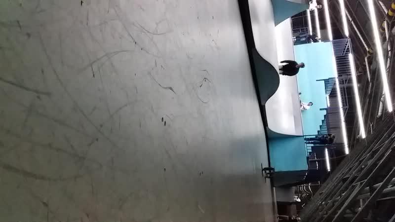 Test Рамзес на скейте - новый трюк: nollie fs 180 kickflip 19.10.2018