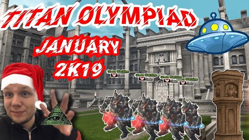 Titan 83 Olympiad Games January 2019
