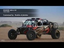Buggy sand car unlimited 454 ci twin turbo
