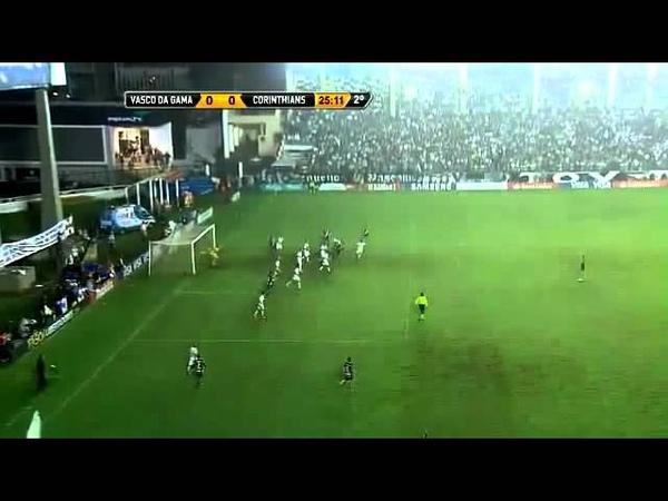 Gol Anulado Vasco x Corinthians - Quartas Da Copa Libertadores 2012 [16052012]