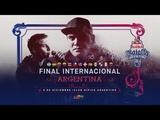 Final Internacional 2018 Red Bull Batalla de los Gallos