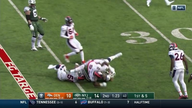 Denver Broncos @ New York Jets - Game in 40_720p