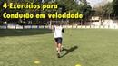 Exercícios para melhorar CONDUÇÃO DE BOLA em VELOCIDADE - Treino de Futebol