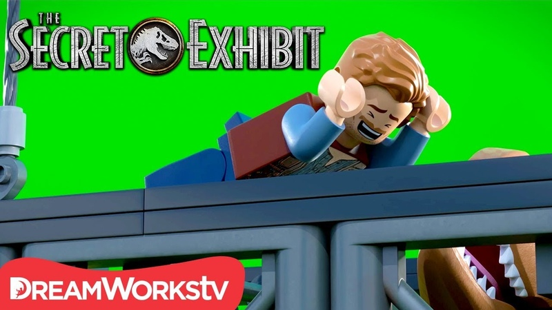 Funniest Moments and Bloopers | LEGO JURASSIC WORLD: THE SECRET EXHIBIT