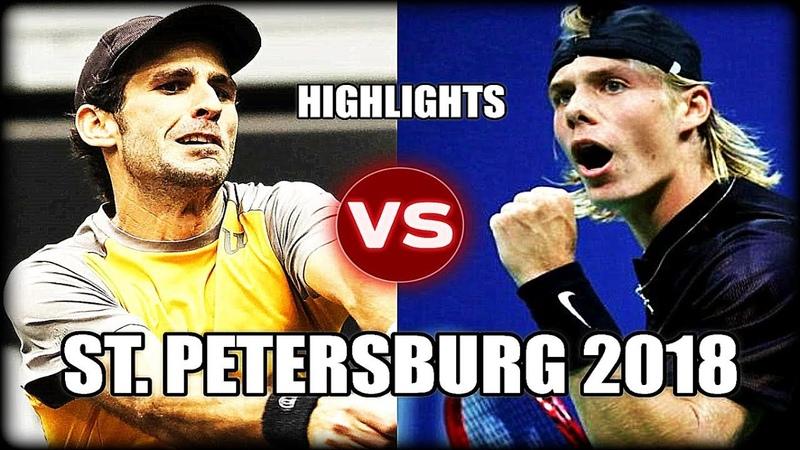 Denis Shapovalov vs Adrian Menendez-Maceiras ST. PETERSBURG 2018 Highlights