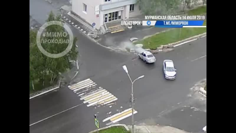 Серьезное ДТП Оленегорск 14.07.19