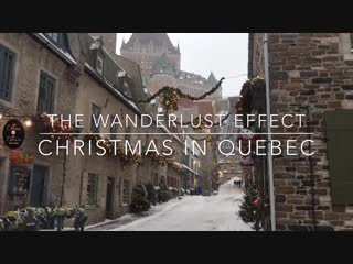 Winter Escape Christmas in Quebec City