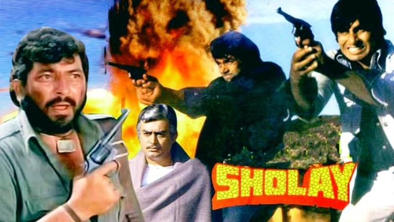 Месть и закон (Индия,1975г) Советская прокатная копия