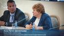 Анна Пугач-Дементьева. Церемония гашения маркированного конверта памяти А.Д. Дементьева