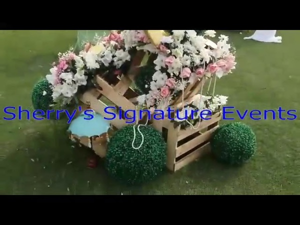 Don't Forget Outdoor Birthday Event Decoration Idea from Sherry's Signature Events 923224886138