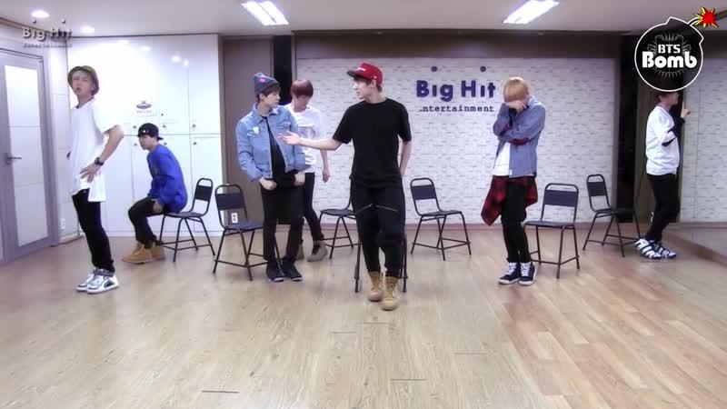 BTS - Just one day репетиция [BANGTAN BOMB]