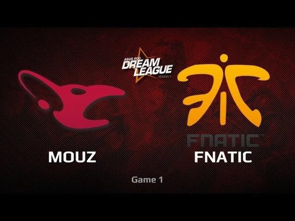 Mouz -vs- Fnatic, DreamLeague LAN Finals, LB Final, Game 1