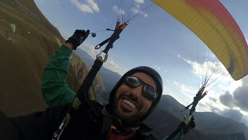 11102018 gudauri paragliding полет гудаури بالمظلات، جورجيا بالمظلات gudauriparagliding com 72