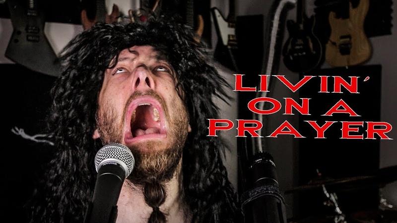 Livin´ On A Prayer metal cover by Leo Moracchioli
