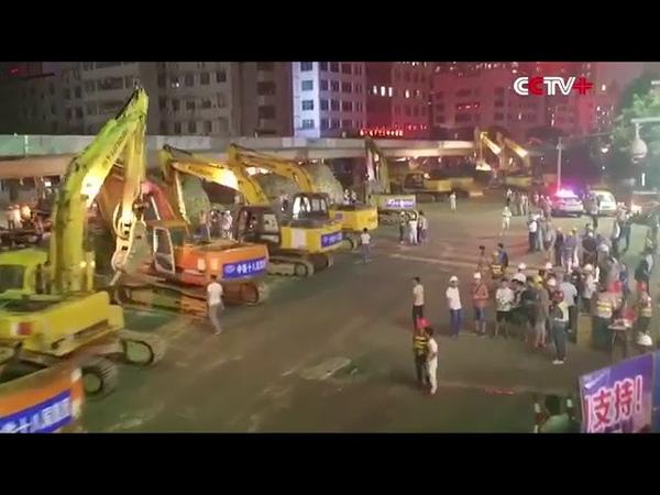 Рекорд: Китайцы сломали и построили мост за два дня