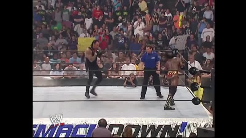 Гробовщик пр. Букер Ти SmackDown 08.04.2006