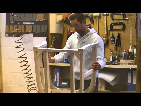 Manufacturing process of the Modena chair