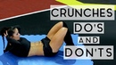 DO'S And DON'TS When Doing Crunches - Your Guide To A Tighter Abs